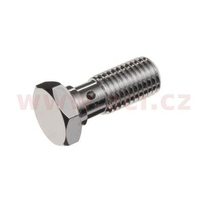 Průtokový šroub jednoduchý M10 x 1,25 mm