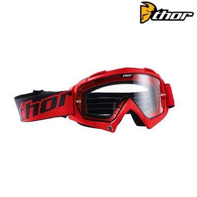 Dětské motokrosové brýle Thor S13Y Enemy Tred-červená