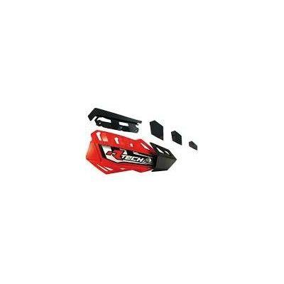 Chrániče páček FLX červeno-černé
