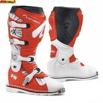 Motokrosové boty FORMA TERRAIN TX bílo/červené