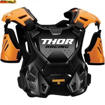 Chránič hrudi Thor S20 - oranžový