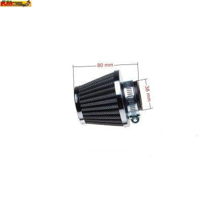 Vzduchový filtr 38mm - chrom
