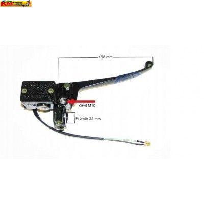 Brzdová pumpa pravá se závitem 10mm