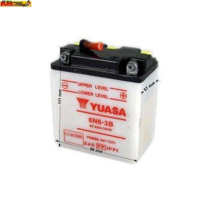 Baterie YUASA 6V 6Ah