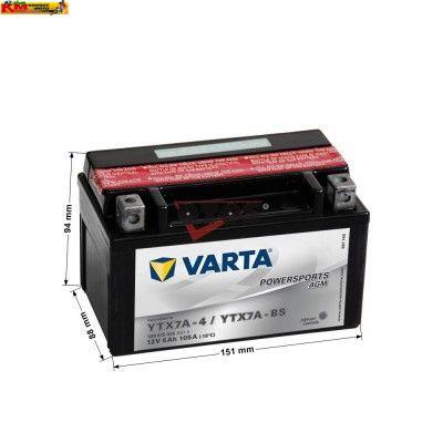 Baterie VARTA 12V 6Ah 105A