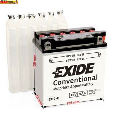 Baterie EXIDE 12V 9Ah 100A