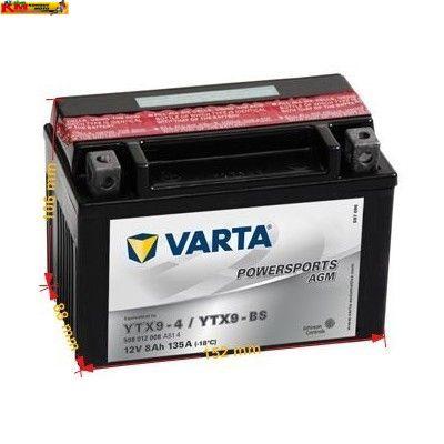 Baterie Varta 12V 8Ah 135A(gel)