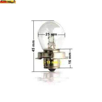 Žárovka R2 12V 15W