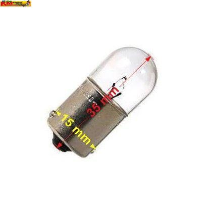 Žárovka Ba15s - 12V 5W - bílá