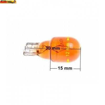 Žárovka 12V 10W - oranžová