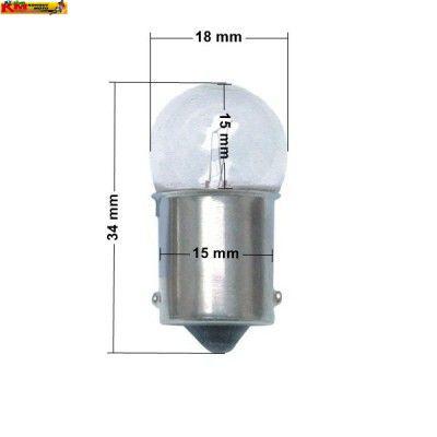 Žárovka 12V 10W - bílá