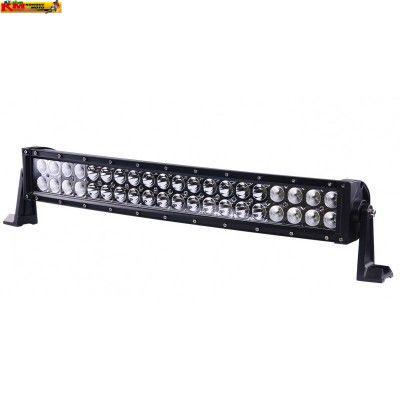 LED rampa 12-30V 120W - zahnutá 87cm