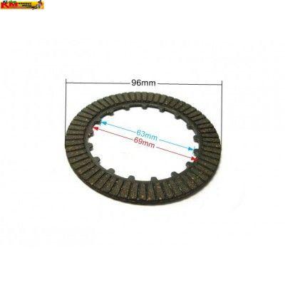 Spojkové lamely (sada 3ks) 110/125cc
