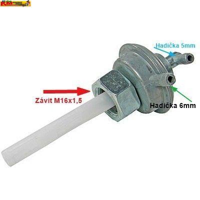 Palivový ventil - podtlakový