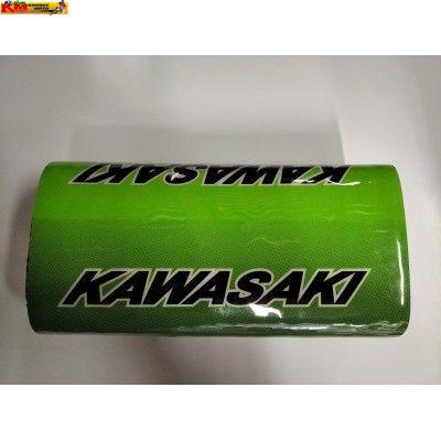 Polstr na bezhrazdová řidítka Kawasaki (zelený)