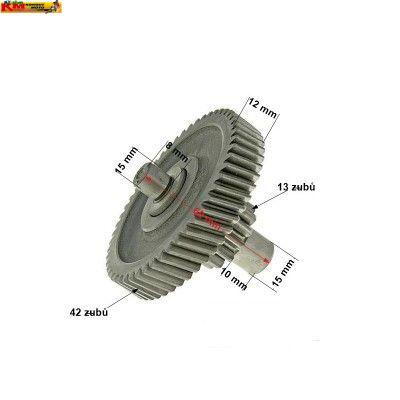 Soukolí převodovky 125cc