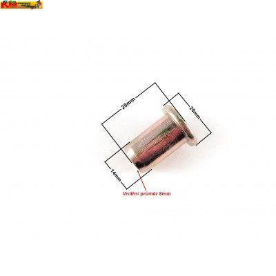 Pevný silentblok  - 25mm