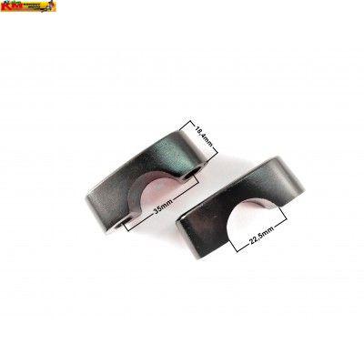 Klemy řidítek - 22,5mm