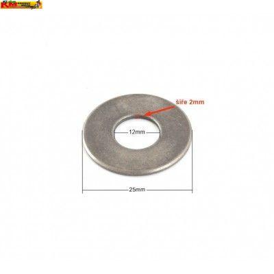Kovová podložka 12mm