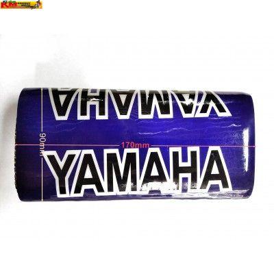 Polstr na bezhrazdová řidítka Yamaha (modrý)