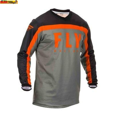 Dres F-16 2020 - šedá/černá/oranžová