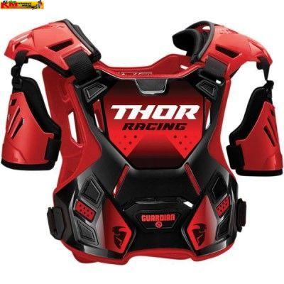 Dětsý chránič hrudi Thor S20 - červený