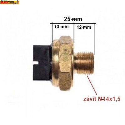 Spínač ventilátoru M14x1,5