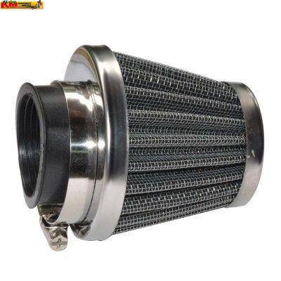 Vzduchový filtr 42mm - chrom