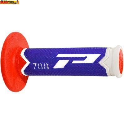 Rukojeti řidítek PG 788 - CZECH bílo/modro/červené