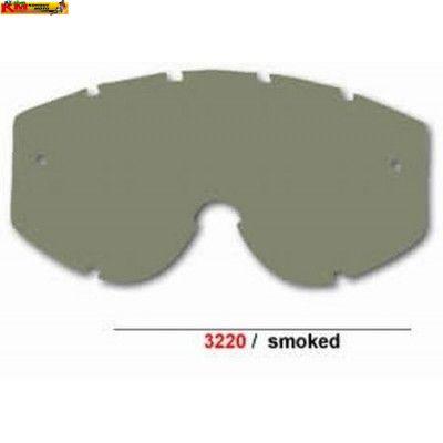 Sklo do dětských brýlí Progrip - kouřové