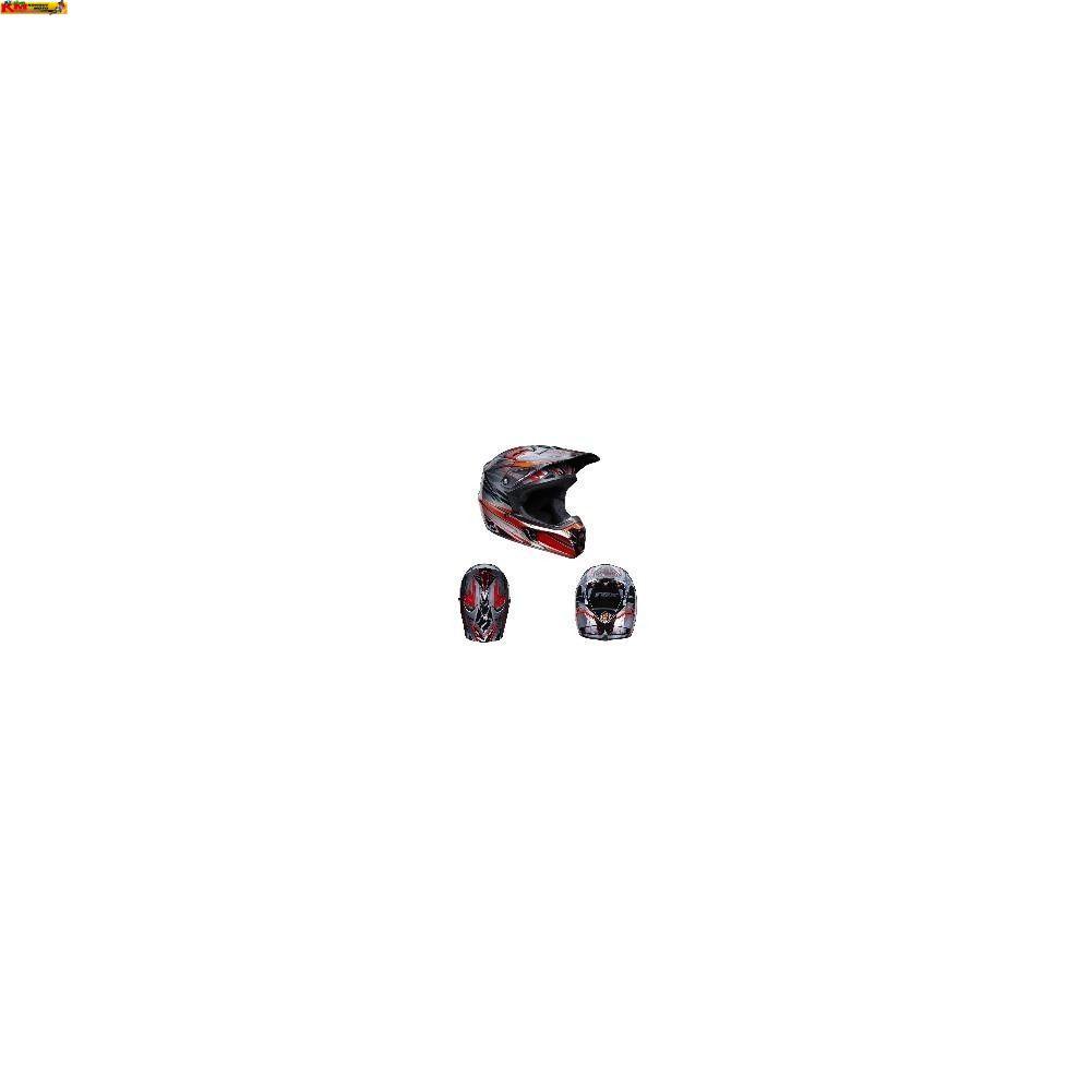 Motokrosová přilba Fox V2 Hybrid Red 2010