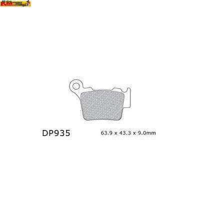Brzdové desky DP 935