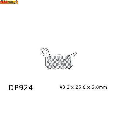 Brzdové desky DP 924