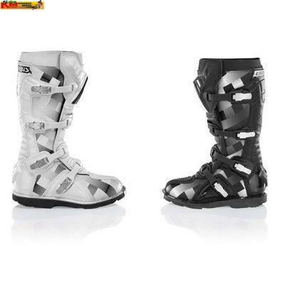 Motokrosové boty Acerbis - bílé