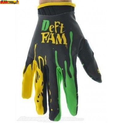 Rukavice Deft Family Green/Yellow