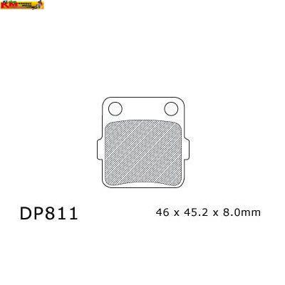 Brzdové desky DP 811