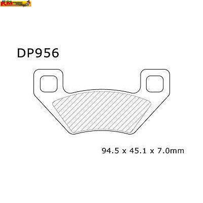 Brzdové desky DP956