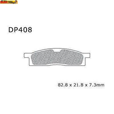 Brzdové desky DP 408-FM