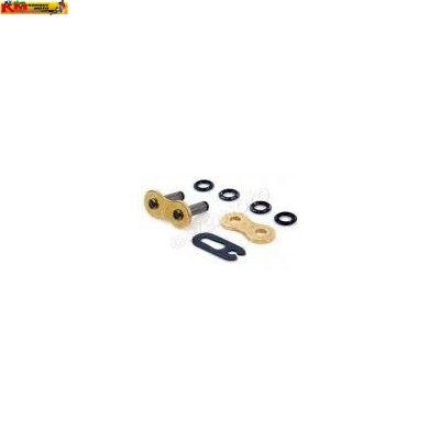 Spojka řetězu O-kroužek ČZ520 - zlatá