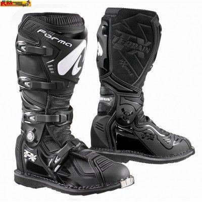 Motokrosové boty FORMA TERRAIN TX černé