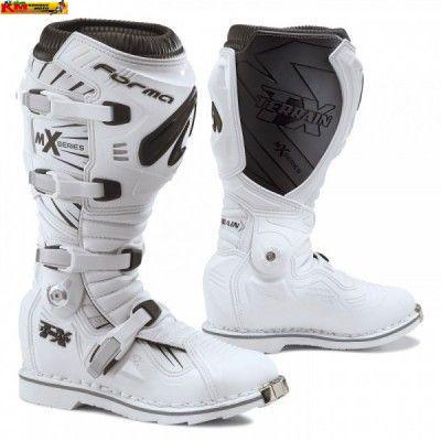 Motokrosové boty FORMA TERRAIN TX bílé