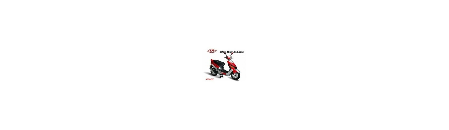 Skútr do 50 ccm pro mladší motocyklisty a začátečníky.